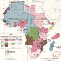 1950 Africa map