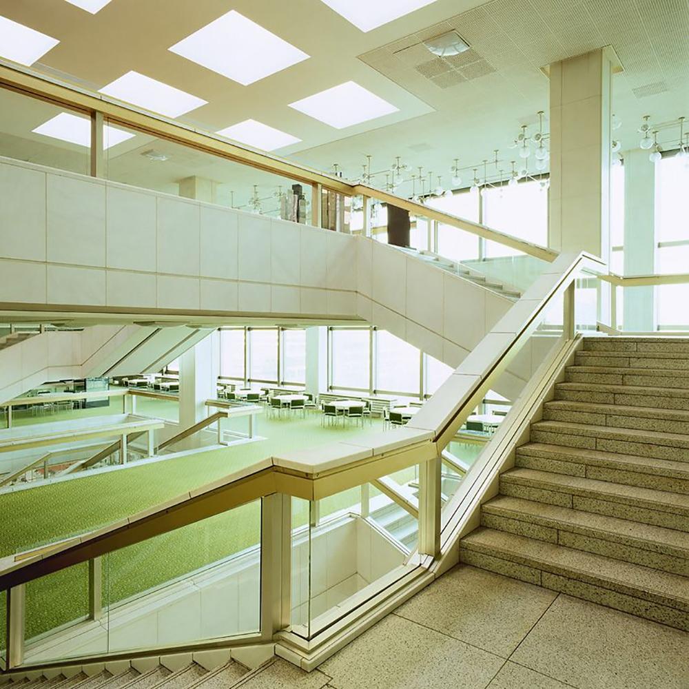 Palast der Republik Berlin Germany staircase