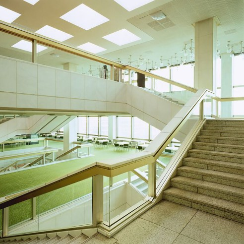 Palast der Republik Berlin Germany staircase
