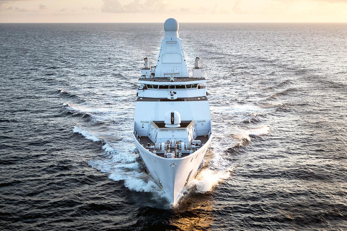 Dutch frigate Zeeland