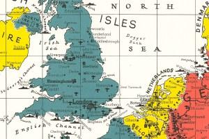 England Netherlands map