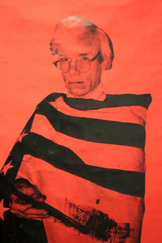 Warhol: The American Dream Factory exhibition Liège Belgium