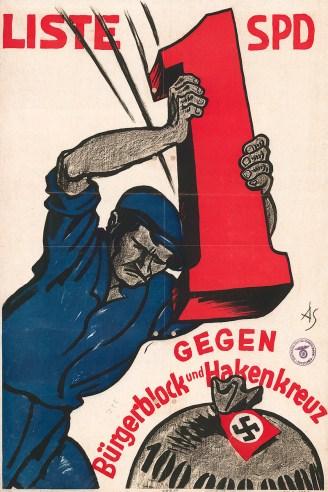 1930 German Social Democratic Party election poster