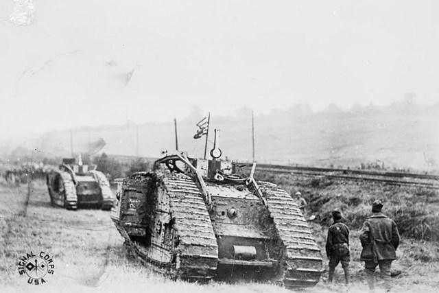 American tank in France