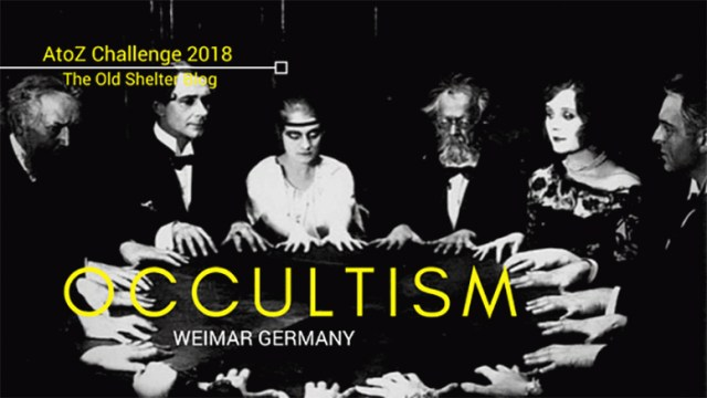 The Old Shelter Weimar Germany Occultism