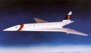 Tupolev Tu-244 artwork