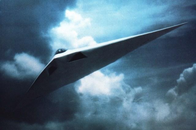 McDonnell Douglas A-12 Avenger II flying wing concept art