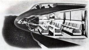 Northrop flying wing cutaway