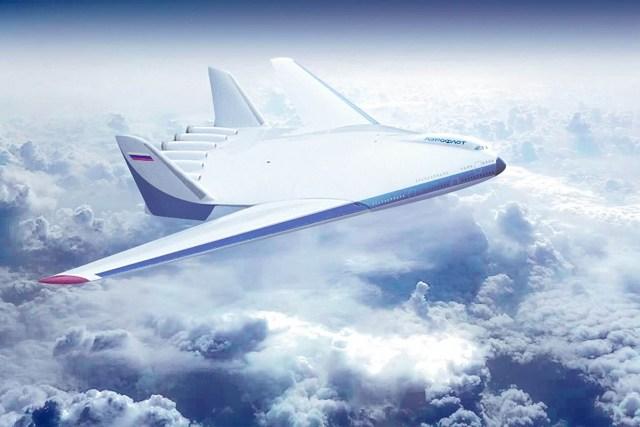 Tupolev Tu-404 concept art