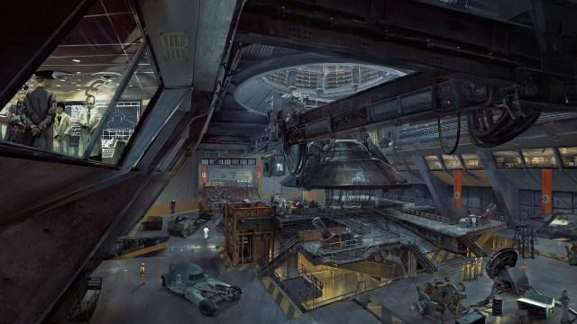 Wolfenstein II: The New Colossus concept art