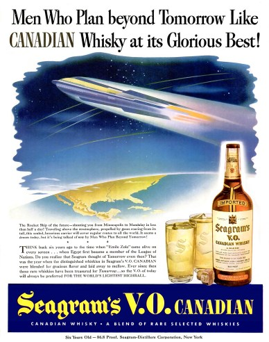 Seagram advertisement