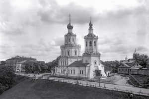 Saint George Church on Volga Embankment Nizhny Novgorod Russia