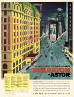 Sheraton-Astor New York advertisement