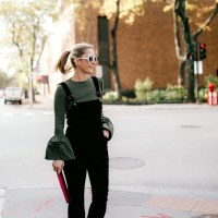 Velvet Overalls: An Alternative to a Dress for the Holidays