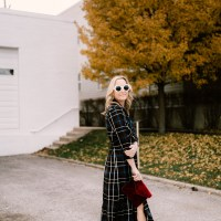 The Versatility of a Plaid Maxi Dress (and the story behind it!)