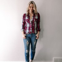 Series: Outfit of the Day-Transitioning Seasons with Plaid