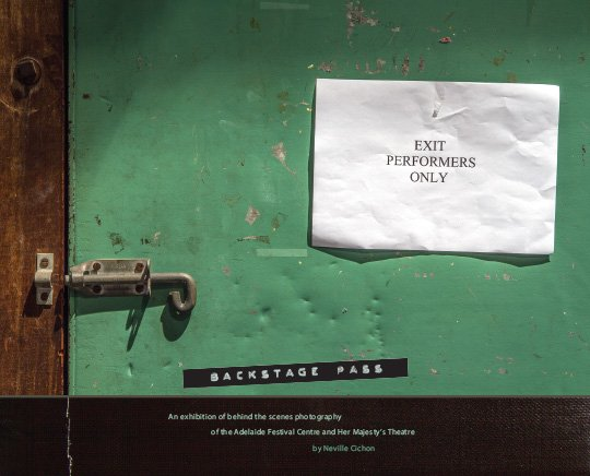 Backstage Pass Booklet cover image