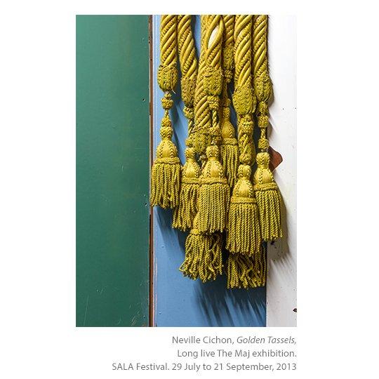 Golden tassels