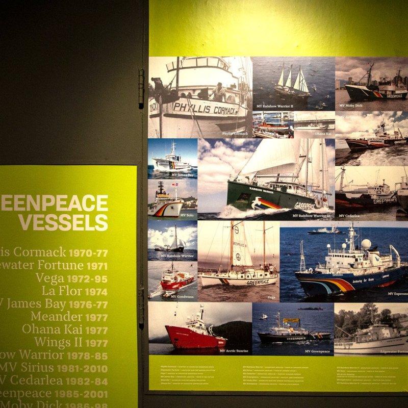 Greenpeace-Vessels