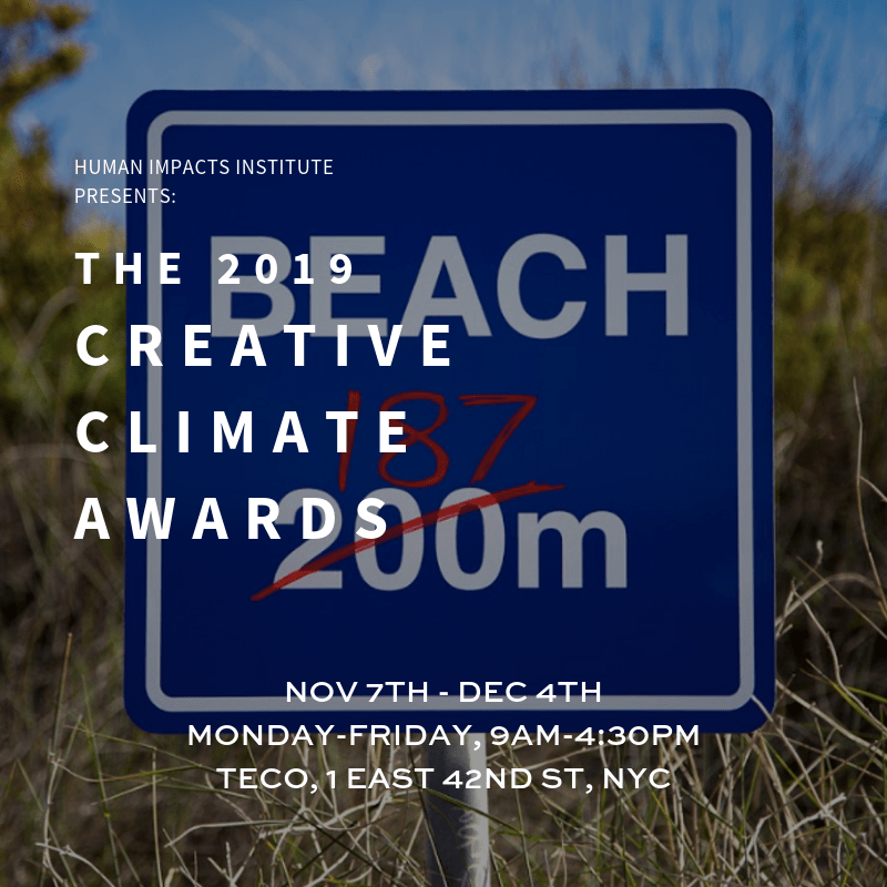 Creative Climate Awards 2019