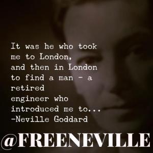 neville goddard london