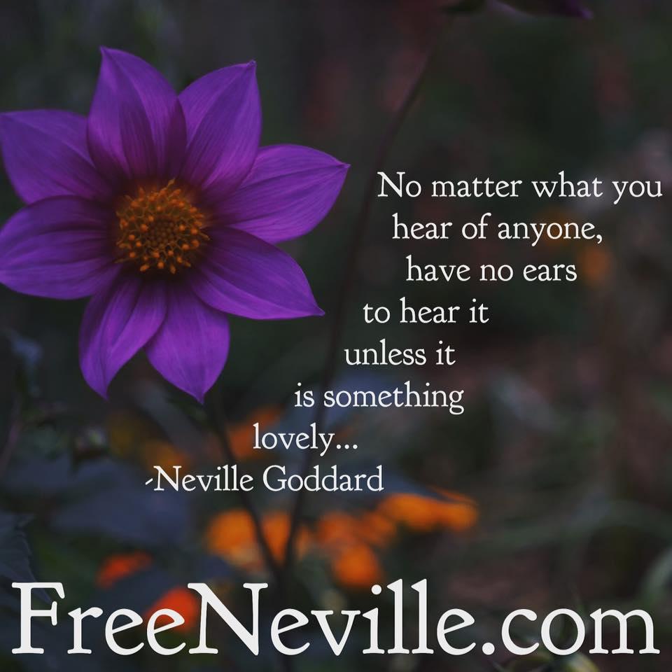 neville goddard imagine lovingly