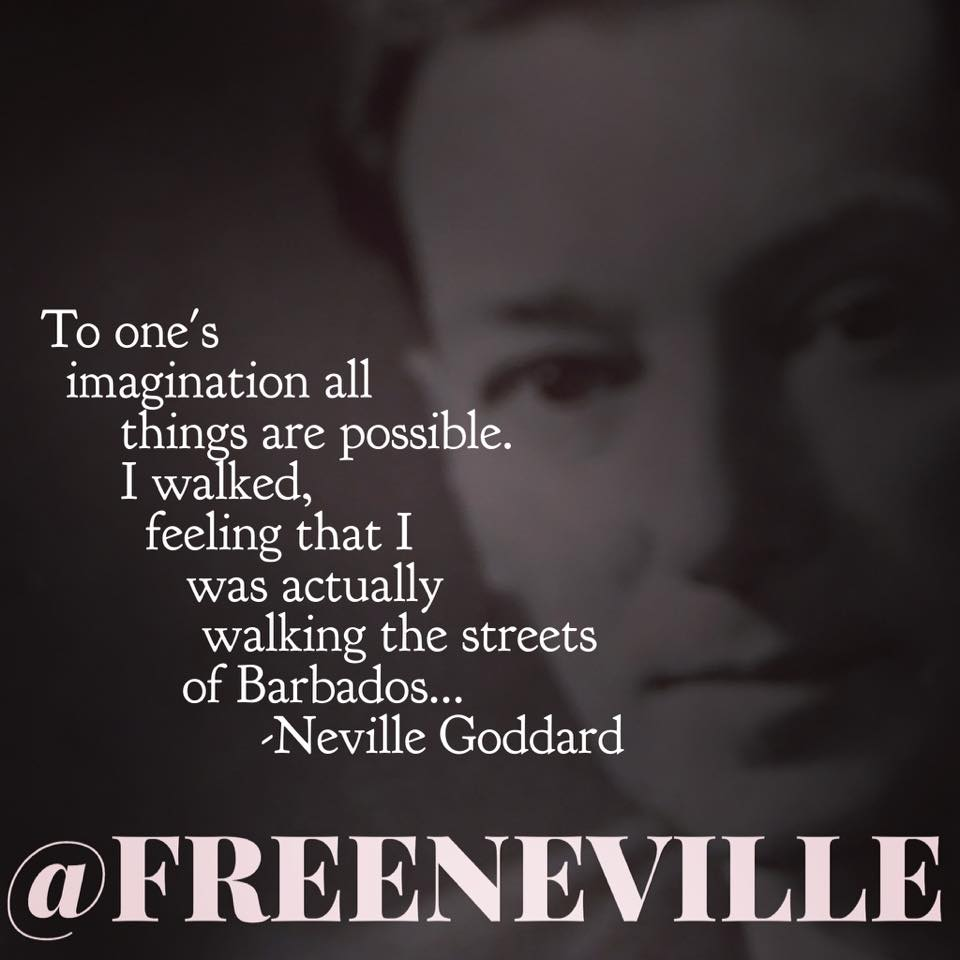 neville goddard walked the streets of barbados