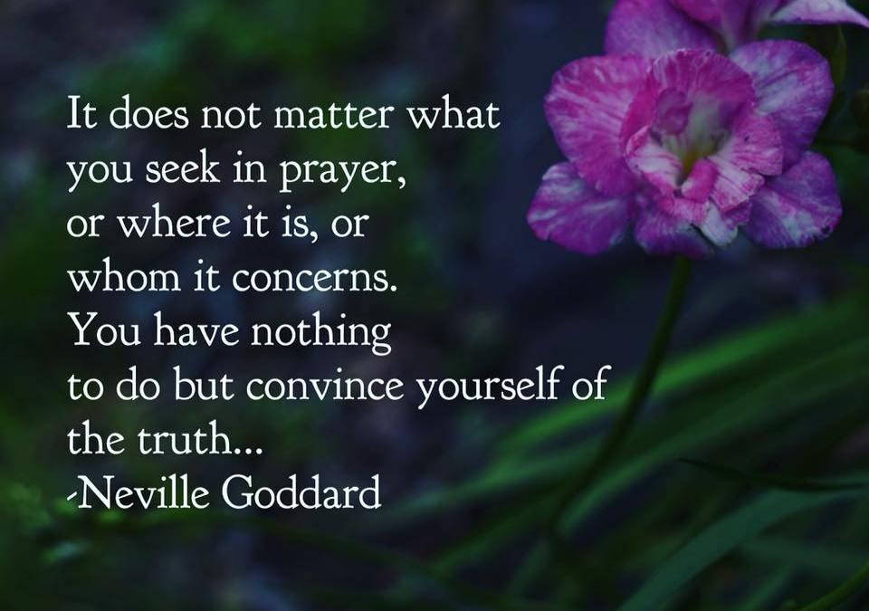 Prayer The Art Of Believing – Free Neville Goddard Download
