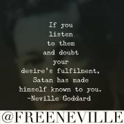 Who Is Satan by Neville Goddard