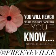 Thank You Father - Neville Goddard Quote