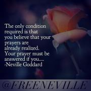 Is Prayer REALLY About ASKING for what I want, or Am I Missing Something?  Neville Goddard Quotes