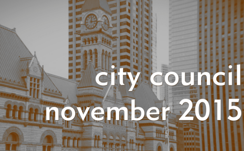 The Cheat Sheet: Nov. 3 City Council