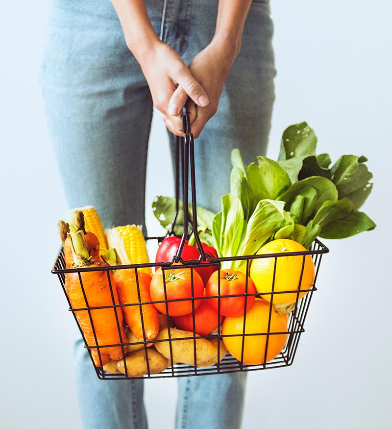 Health Coaching Obst und Gemüsekorb