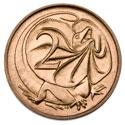 Монета Австралии номиналом 2 цента
