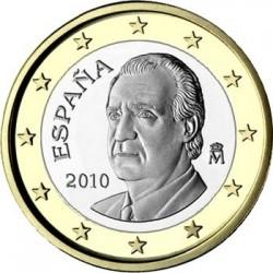 """Монета """"Испания - 1 евро (2010)"""""""
