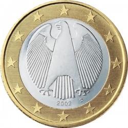 """Монета """"Германия - 1 евро"""""""