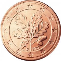 """Монета """"Германия - 5 евроцентов"""""""