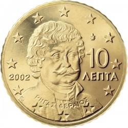 """Монета """"Греция - 10 евроцентов"""""""