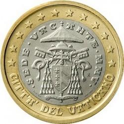 """Монета """"Ватикан - 1 евро (2005-2006)"""""""
