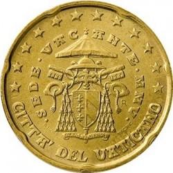 "Монета ""Ватикан - 20 евроцентов (2005-2006)"""