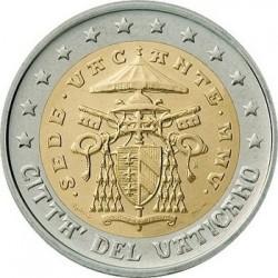 """Монета """"Ватикан - 2 евро (2005-2006)"""""""