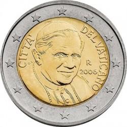 """Монета """"Ватикан - 2 евро (2006)"""""""