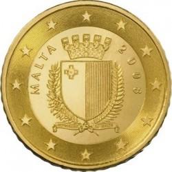 Описание монеты «Мальта - 10 евроцентов»