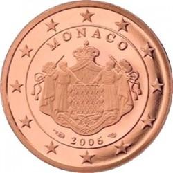 Описание монеты Монако - 2 евроцента (2006)