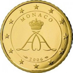 Описание монеты Монако - 50 евроцентов (2006)
