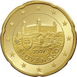 Словакия - 20 евроцентов