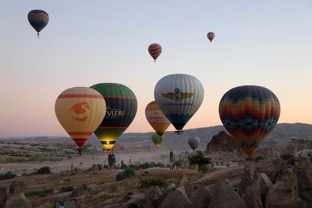 Kapadokya bölgesini Eylül ayında 120 bin 107 turist ziyaret etti
