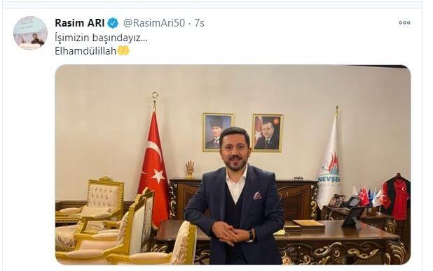 Nevşehir Belediye Başkanı Arı'ya silahlı saldırı