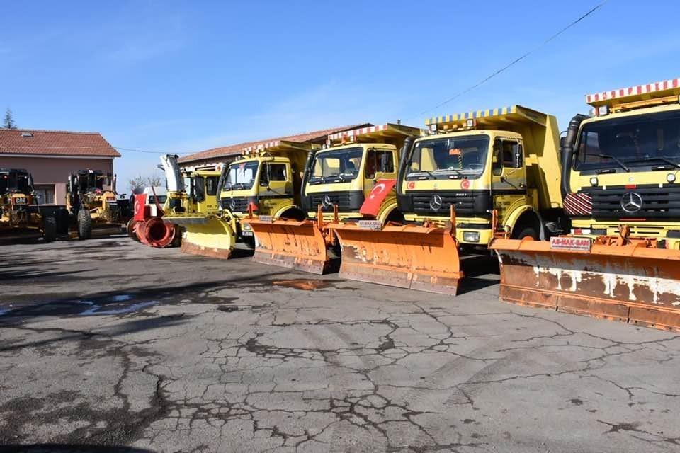 Nevşehir İl Özel İdaresi Genel Sekreterliği kış hazırlıklarını tamamladı