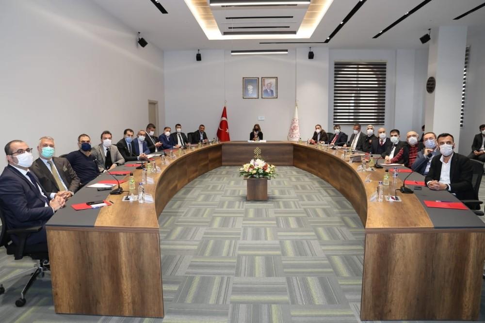 Kapadokya Alan Başkanlığı istişare toplantısı gerçekleştirildi
